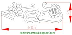 bookmark template written in AutoCad, written Source by katalinmathe Autocad, Bookmark Template, Point Lace, Embroidery Patterns, Folk Embroidery, Bookmarks, Templates, Writing, Learning