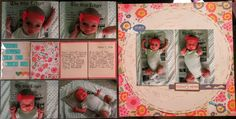 Cook Scrap Craft: Extra! Extra! Read All About It! Scrapbook Page