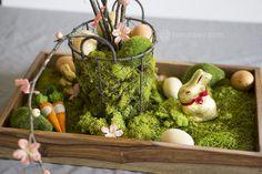 DIY Natural Easter Table Centerpiece — JaMonkey - Atlanta Mom Blogger | Parenting & Lifestyle