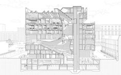 Archi-Quiz: Can You Identify These 12 Iconic Buildings Solely From Their Sections? - Architizer