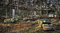 The beauty of the most haunted and mysterious abandoned amusement parks on Earth