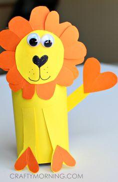 Paper Lion Kids Craft