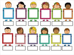Preschool Writing, Preschool Activities, Classroom Family Tree, Bus Cartoon, School Board Decoration, Picture Invitations, Notebook Cover Design, School Frame, Kids Background