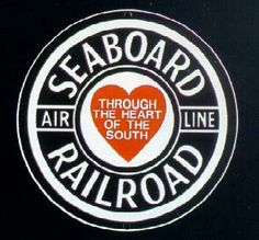 seaboard rr-through the heart of the south