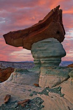 Hoodoo, Glen Canyon National Recreation Area, Page, Arizona | Guy Schmickle