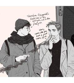 literature space boyfriends in modern day new york