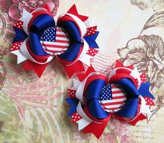 Adorable-4th-Of-July-Hair-Bows-For-Girls-2013-1