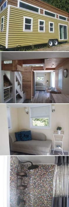 A tiny house for sale in Woodinville, Washington