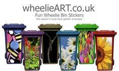 Wheelie Bin Stickers