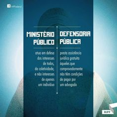 ministério público X defensoria pública
