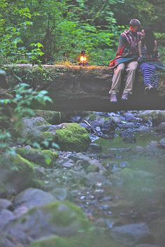 Forest Engagement Photos For Those Who Love Nature ❤ See more: http://www.weddingforward.com/forest-engagement-photos/ #weddings
