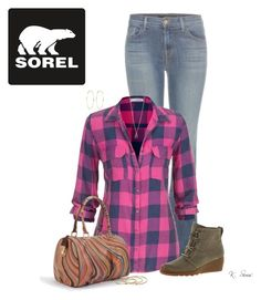 """""""Inspired by Michell Smith. Thank you!"""" by ksims-1 ❤ liked on Polyvore featuring J Brand, maurices, SOREL, River Island, Paul Smith, Michael Kors and GUESS"""