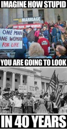 Imagine how stupid you will look in 40 years.....
