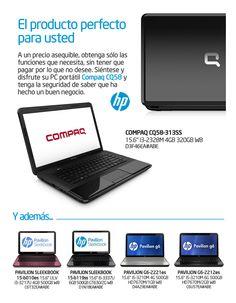 Nueva oferta de portátiles HP