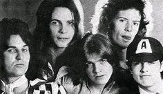 ACDC-1973 Angus y Malcolm Young,Dave Evans,Larry Van Kried(bass)y Colin Burgess(drums