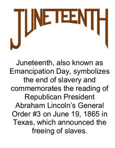 Image result for the first juneteeth celebrated in texas.