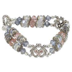 Antiqued Sparkle Bracelet Project   Swarovski Crystal Jewelry Project