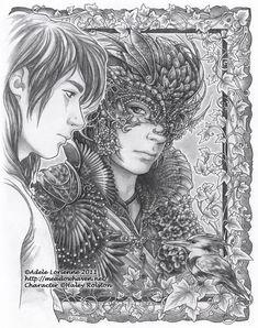 Masquerade Mirrors: Luke by Saimain