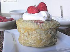 Single Serving Gluten Free Chia Puff Pancake: No Sugar Added, under 200 calories ~ Great for MJ & Anthony