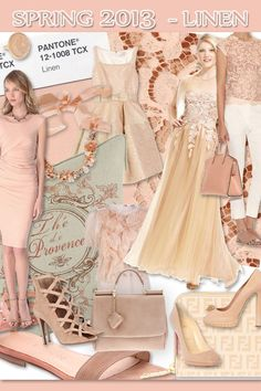Linen color for Spring 2013