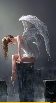 fantasy,art,арт,красивые картинки,art барышня,ангел