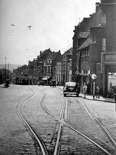 Hoek Akerstraat Kouvenderstraat 1952 Hoensbroek