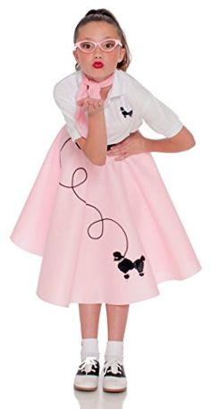 Vintage Fashion Poodle Skirt for Girlshttp://secretofdiva.com/product/poodle-skirt-for-girls/ Check more at http://secretofdiva.com/product/poodle-skirt-for-girls/