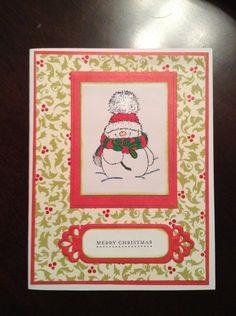 Penny Black Christmas Card