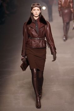 What's with all the dieselpunk on the catwalk? (Hermès Paris Fashion Show)
