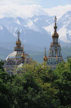 Zenkov Cathedral, Alma-Ata, Kazakhstan