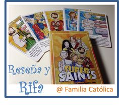 "Familia Católica: Reseña de las cartas ""Super Saints"" de Equipping Catholic Families y RIFA"