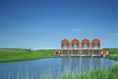 Water Pump Station Rozema The Netherlands by Richard Paas on 500px