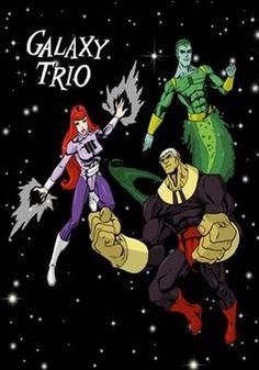 Galaxy Trio - Dublado - Todos os Episódios