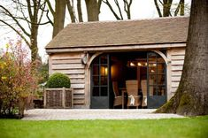 Wooden garage can have many different uses.. :) Find out more about wooden garages at www.quick-garden.co.uk :))
