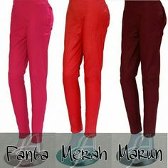 COTTON STRETCH PANTS, @56rb (all size), @61rb (jumbo size), @66rb (super jumbo)
