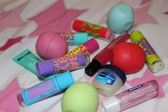 The maybelline baby soft one actually isn't that great. It's too greasy. Eos lip balms are amazing. But softlip will always be my favorite. Nivea is just okay.