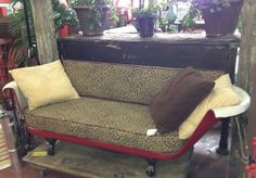 Clawfoot tub couch....YES PLEASE!!
