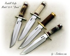 "Randall Knife Model 12 - 9  ""Sportsman's"" Bowie"