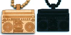 Wood Junkie Necklace Boombox I - Urban Classics-Shop.nl