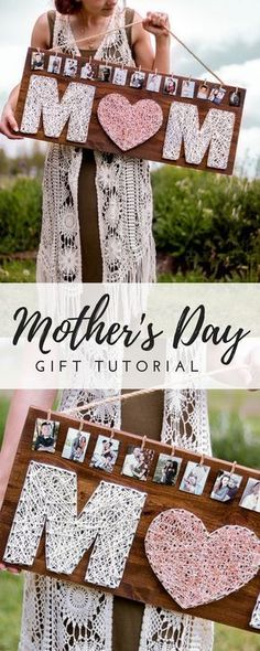 This Mother's day gift is one the perfect combination of love and memories! # diy gifts for mom Homemade Mother's Day Gift-IDEA- DIY ROSE GOLD GIFT Homemade Mothers Day Gifts, Diy Gifts For Mom, Mothers Day Crafts, Mother Day Gifts, Mothers Day Ideas, Mothers Day Decor, Easy Handmade Gifts, Mother Birthday Gifts, Gift For Mother