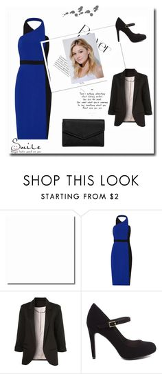 """Just Smile"" by adna-00 ❤ liked on Polyvore featuring Badgley Mischka, Neutrogena and LULUS"
