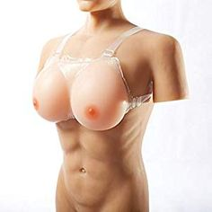 f7d652bb6 Silicone Breast Forms Strap-On Fake Boobs Lifelike for Mastectomy  Crossdresser Transgender Bra