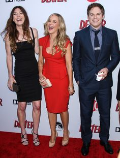 Jennifer Carpenter & Julie Benz Dexter Season 8 Premiere Screening