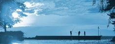 les pecheurs de bonheur, un moment paisible au Lac Léman. CR Beata Jansen / BJK Coaching