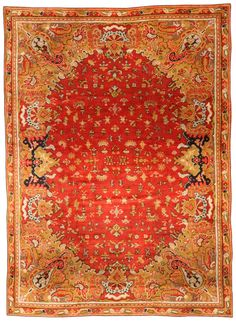 A European Antique Rug. Perfect choice for traditional interiors as well as for a modern interior design. The carpet is of a very good quality Price: $70,000