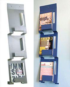 blu dotu0027s 2d3d magazine rack 65 at design public