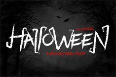 Black Halloween Font by illushvara (Free) Halloween Fonts, Neon Signs, Feelings, Free, Black, Black People
