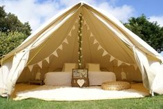brightonbelltents Luxury Bell Tent hire in Sussex, Kent and Surrey. Bell tent and Giant Hat Tipi hire in Sussex, Kent & Surrey. Glamping, tent hire for weddings, festivals & events. Teepee Tent Camping, Bell Tent Glamping, Camping Diy, Best Tents For Camping, Canopy Tent, Camping Kitchen, Camping Cooking, Camping Hacks, Outdoor Camping