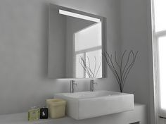 Orion Demister LED Mirror Cabinet with Sensor, Demister Pad and Shaver Socket Size: x x mm Product Code: Modern Mirror Design, Bathroom Mirror Design, Bathroom Mirror Cabinet, Mirror Cabinets, Bathroom Interior Design, Modern Mirrors, Bathroom Ideas, Illuminated Bathroom Cabinets, Illuminated Mirrors