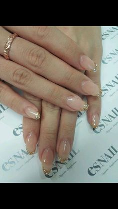 Natural Nail Designs Gallery the best designs on natural nails Natural Nail Designs. Here is Natural Nail Designs Gallery for you. Natural Nail Designs 49 natural elegant nail designs to prepare for parties and. Es Nails, Love Nails, How To Do Nails, Pretty Nails, Hair And Nails, Gold Tip Nails, French Nails, Acryl Nails, Natural Nail Designs